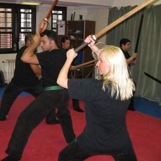 Learn staff and sword lessons